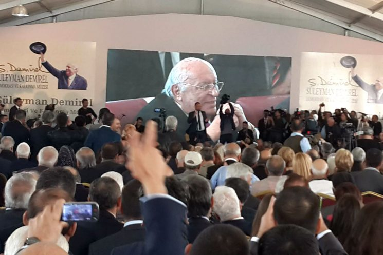 Sülayman Demirel Demokrasi ve Kalkınma Müzesi ve Külliyesi Açıldı