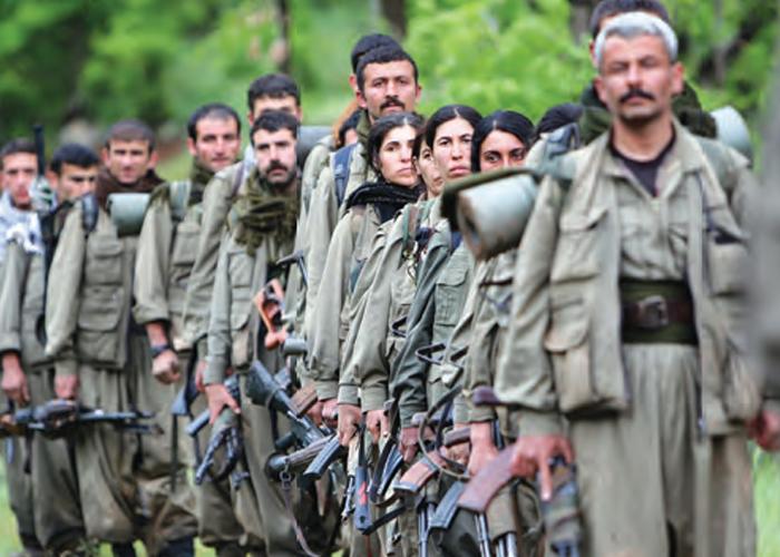 Hendeklere Gömülen Terör Örgütü PKK