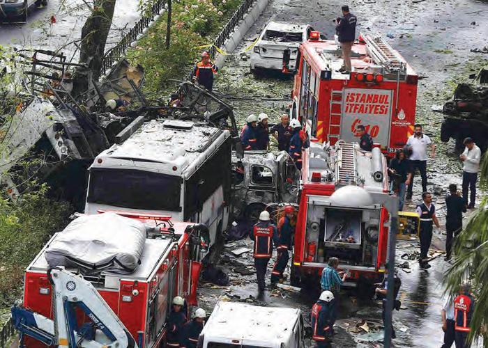 Veznecilerde Polise Bombalı Saldırı