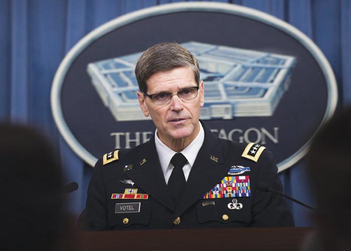 ABD Merkez Kuvvetler Komutanı Joseph Votel Ankara'da Destek Aradı