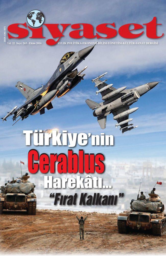 """Türkiye'nin Cerablus Harekâtı…""""Fırat Kalkanı"""""""