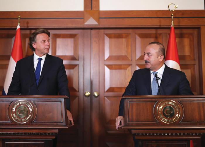 Hollanda Dışişleri Bakanı Koenders'in Ankara'ya Dayanışma Ziyareti