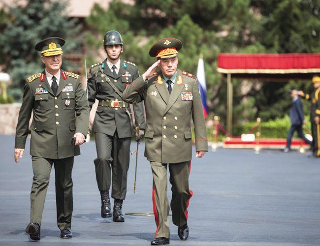 Rusya Genelkurmayı Başkanı'nın Ankara Ziyareti