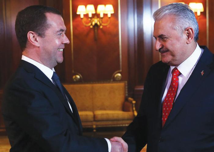Başbakan Yıldırım Rusya 'ya ve Tataristan'a Önemli Bir Ziyaret Gerçekleştirdi