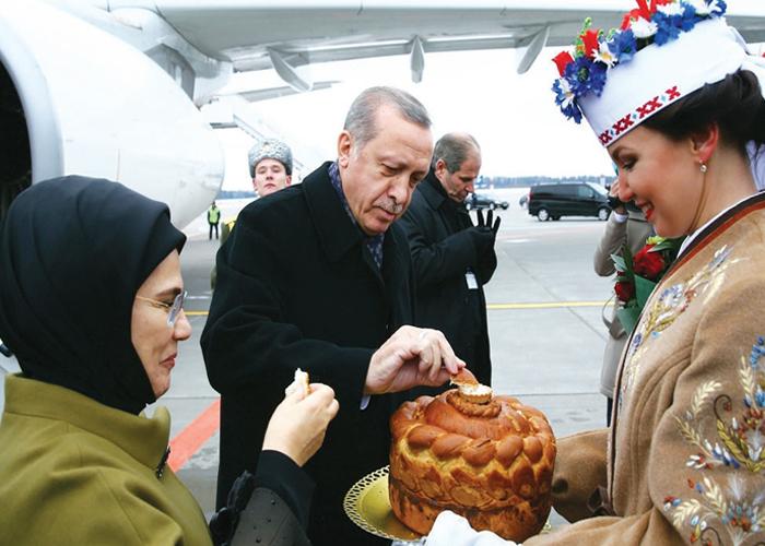 Cumhurbaşkanı Erdoğan'ın 200 İşadamı ile BELARUS Çıkartması