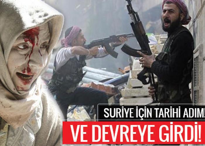 SURİYE'DE KALICI BARIŞIN GARANTÖRÜ Türkiye