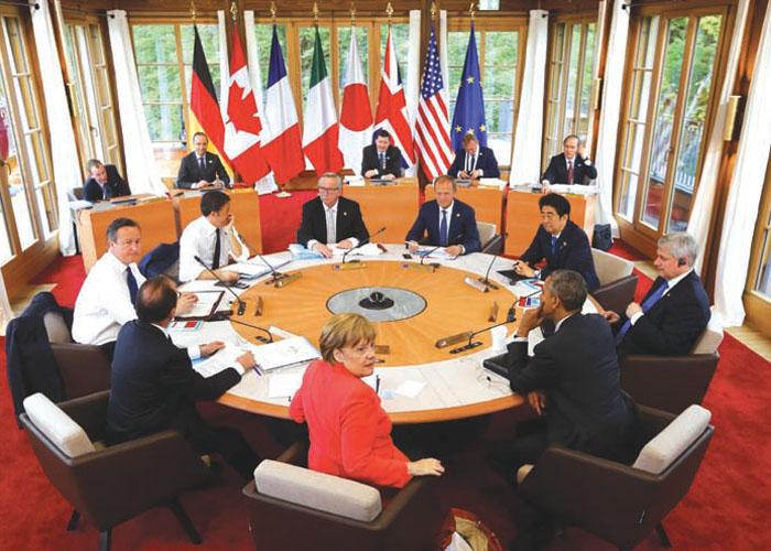 G7 Zirvesi, İtalya'nın Taormina Beldesinde yapıldı