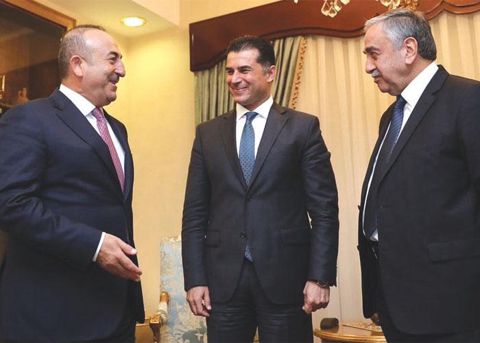 Dışişleri Bakanı Çavuşoğlu'nun KKTC Ziyareti
