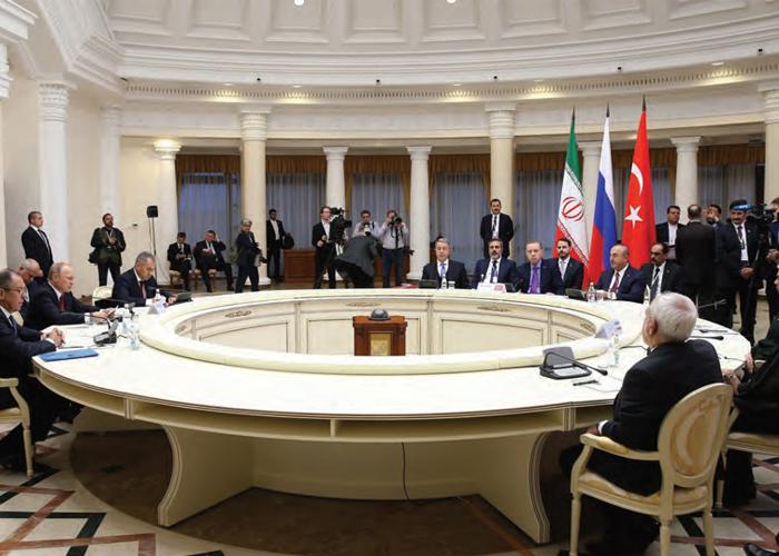 Soçi Zirvesi Gerçeği: Türkiye-Rusya-İran Suriye'nin Geleceğinde Önemli Aktörler