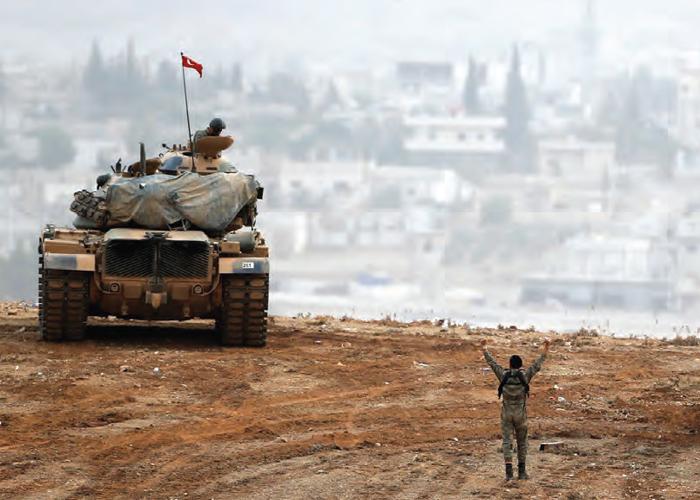 Afrin Hilâlinin Tamamlanması Terör Örgütlerinin Kümelendiği Afrin Merkezinin Yolunu Açtı