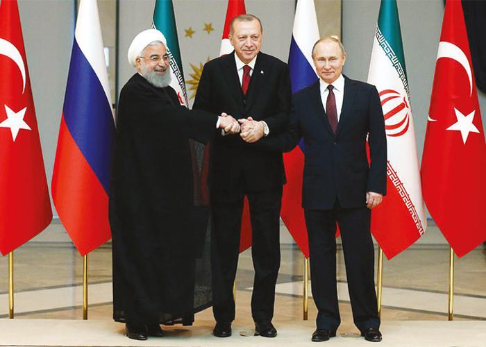 TÜRKİYE- RUSYA- İRAN'ın ANKARA ZİRVESİ MUTABAKATLA SONUÇLANDI