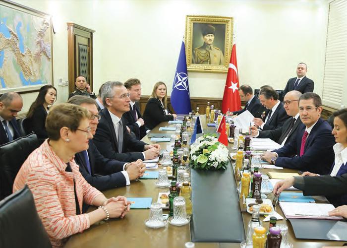NATO GENEL SEKRETERİ STOLTENBERG ANKARA'DA