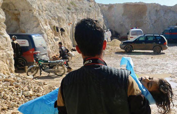 Suriye'de Kimyasal Silah Saldırısı İddiası