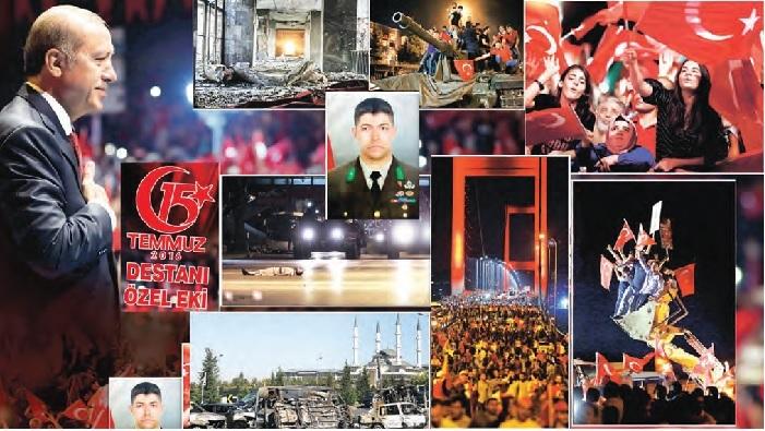15 Temmuz Destanı'nın İkinci Yıl Dönümü