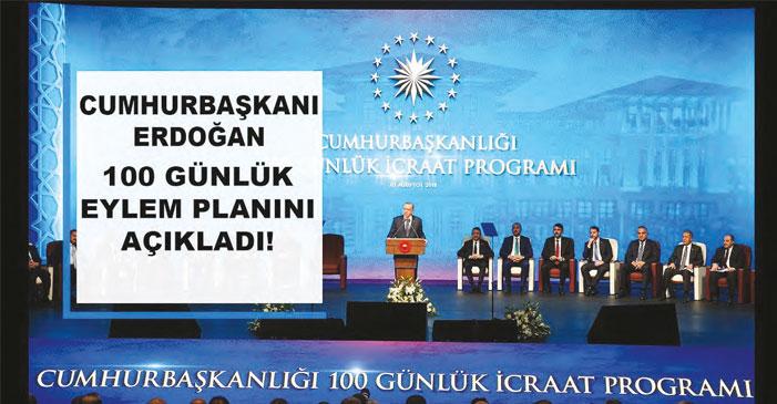 Cumhurbaşkanlığı Kabinesi'nin 100 Günlük Eylem Planı