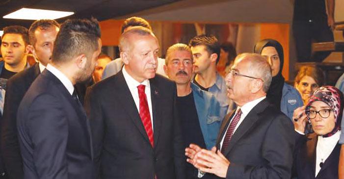 Başkan Erdoğan, Mardin Büyükşehir Belediyesi Gençlik Merkezini Ziyaret Etti