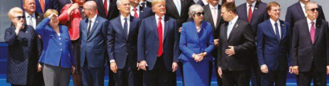 29 ÜLKENİN LİDERLERİ Brüksel'deki NATO Zirvesi'nde Bir Araya Geldi