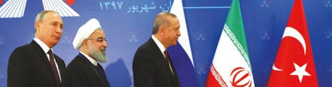 TÜRKİYE-RUSYA- İRAN TAHRAN ZİRVESİNDE 12 MADDELİK BİLDİRİ KABUL EDİLDİ