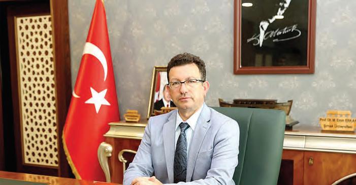 Prof. Dr. Mehmet Emin ERKAN Rektör