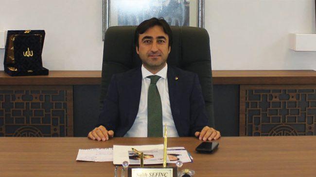 Salih SEFİNÇ Cizre Ticaret ve Sanayi Odası Yönetim Kurulu Başkanı