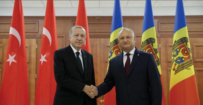 """Cumhurbaşkanı Erdoğan """"Moldova Türkiye'nin Stratejik Ortağıdır."""""""