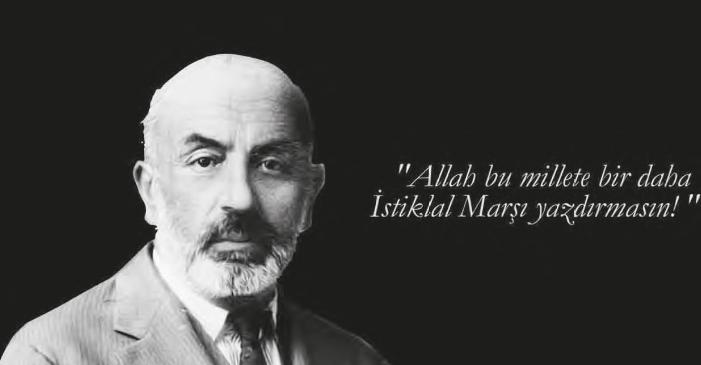 İSTİKLAL MARŞI'NIN KABULÜ'NÜN 98.YILI
