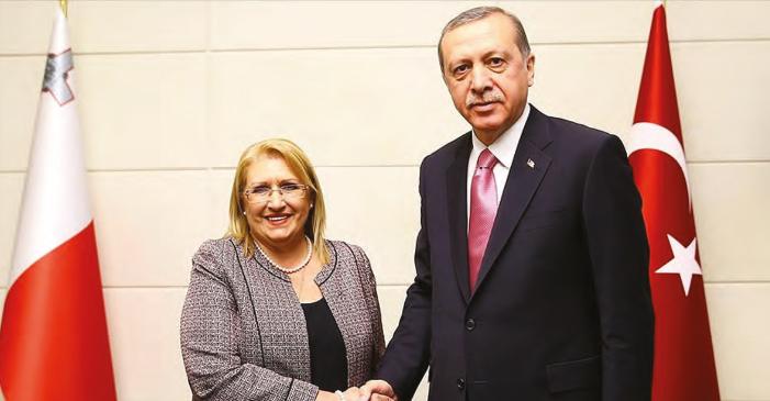Malta Devlet Başkanı'nın Tarihi Türkiye Ziyareti