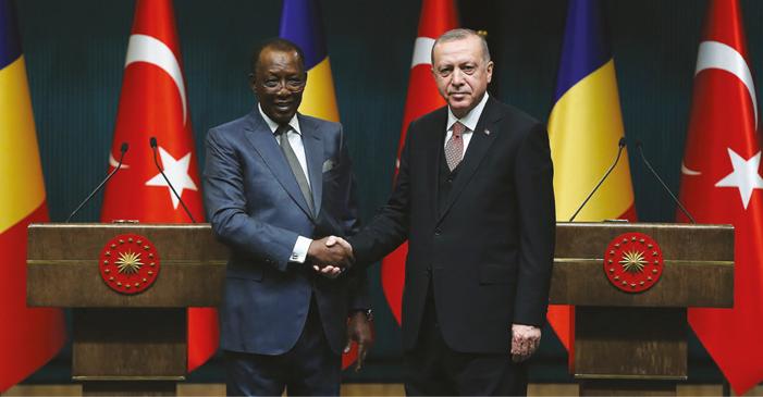 Çad Cumhurbaşkanı Cumhurbaşkanlığı Külliyesinde