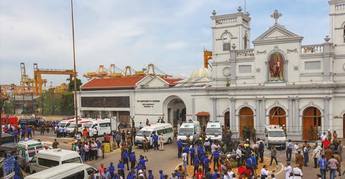 Sri Lanka'daki TERÖR SALDIRISI DÜNYAYI SARSTI