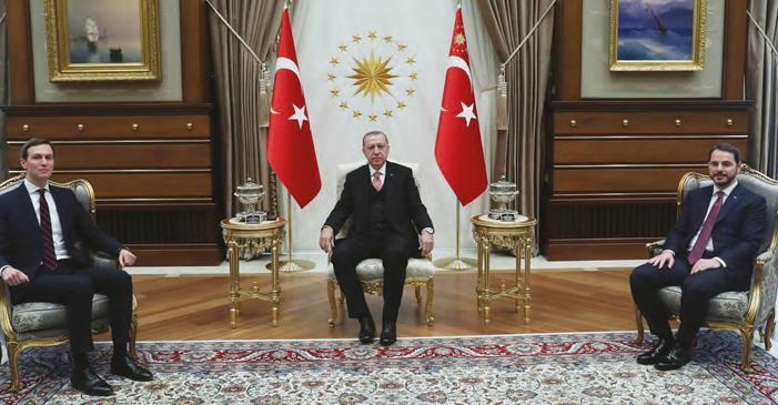 """Kushner Beştepe'de """"Yüzyılın Anlaşmasına"""" Destek Aradı"""
