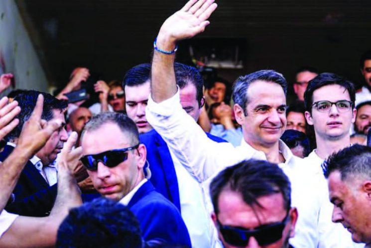 Yunanistan Seçiminin Galibi: YENİ DEMOKRASİ LİDERİ KİRYAKOS MİÇOTAKİS