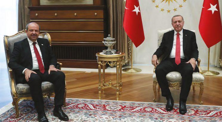 Erdoğan-Tatar Kıbrıs'taki Son Gelişmelerin Ele Alındığı Kritik Görüşme
