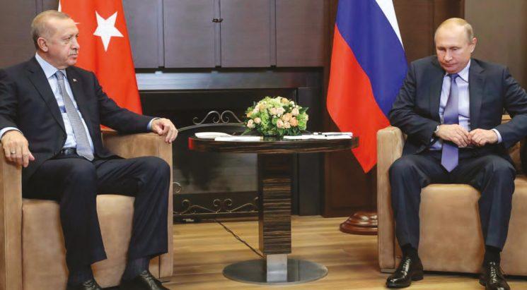 SOÇİ MUTABAKATI DOĞRULTUSUNDA Türk-Rus Devriyeleri