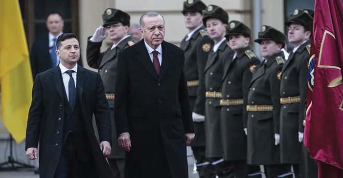 """Cumhurbaşkanı Erdoğan: """"Şan Olsun Ukrayna'ya"""""""
