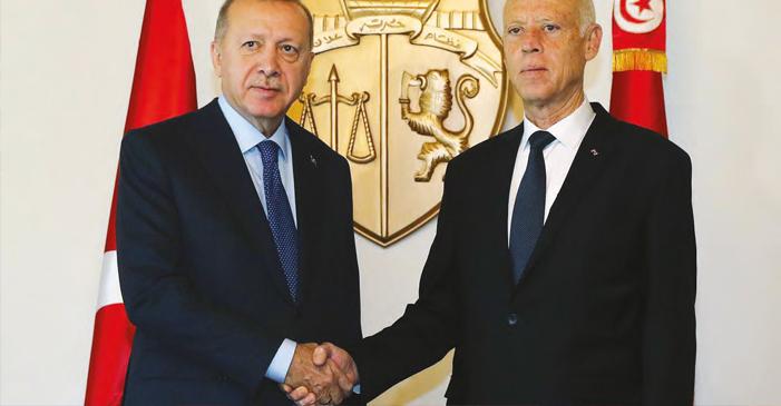 Cumhurbaşkanı Erdoğan'dan Tunus'a Sürpriz 'Libya' Ziyareti
