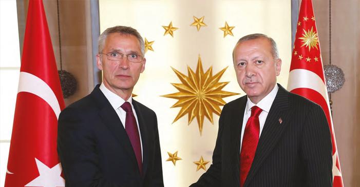 Cumhurbaşkanı Erdoğan; NATO'DAN TALEBİMİZ ÖNCEKİ KARARLARIN UYGULANMASI