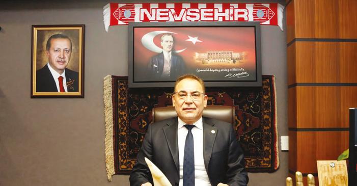 Yücel MENEKŞE Nevşehir Milletvekili