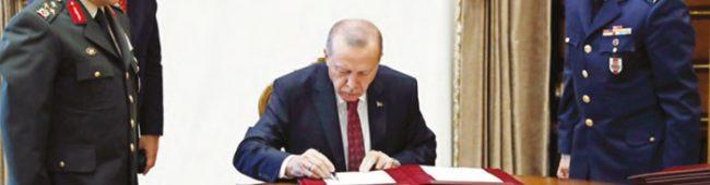 YAŞ TOPLANTISI VE TSK'DA YENİ TERFİLER